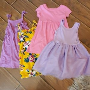 Lot of Toddler Girls Old Navy Dresses Size 2T